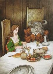 La Belle et la Bête par PJ Lynch
