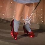 Les chaussures de rubis