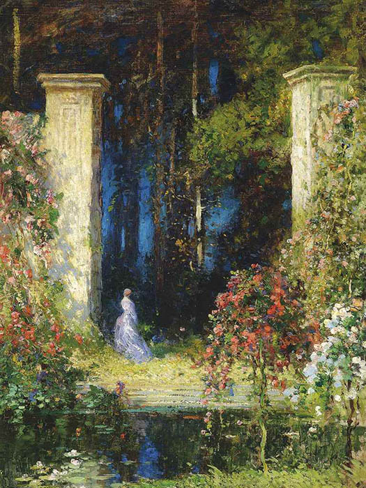 """The Old Gateway"",  Thomas Edwin Mostyn"
