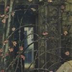 Edward-Burne-Jones | Love-Among-The-Ruins (détail)
