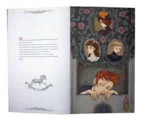 LACOMBE, Benjamin et KAWA, Agata, Le Carnet Rouge, Paris, Seuil Editions, 2010, double page 3-4.
