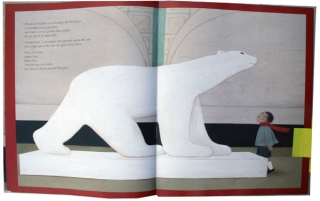 EISHNER, Géraldine et BOILLAT, Joanna, Pompon, Paris, Gautier-Languereau, 2008, double page 3-4.