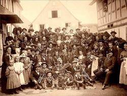 Photo de groupe, début XXème siècle
