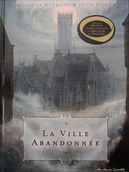 """Couverture """"La ville abandonnée"""""""